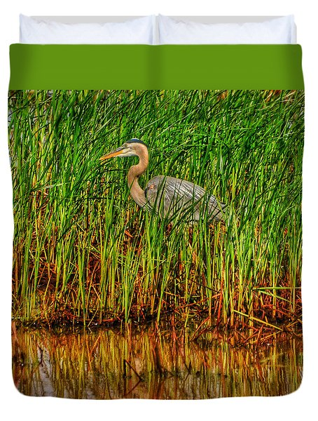 Featherstrokes II Duvet Cover