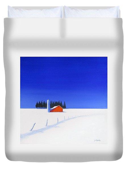February Fields Duvet Cover