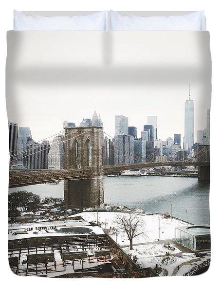 February Freeze Duvet Cover