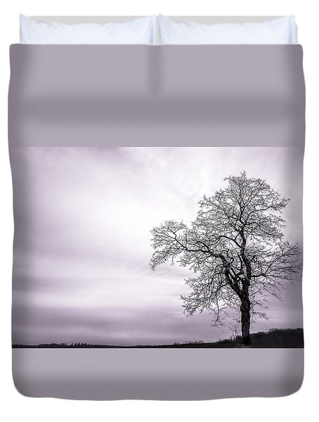 February Morning Duvet Cover
