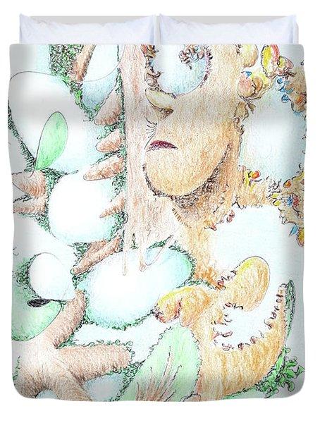 Fecundity Duvet Cover