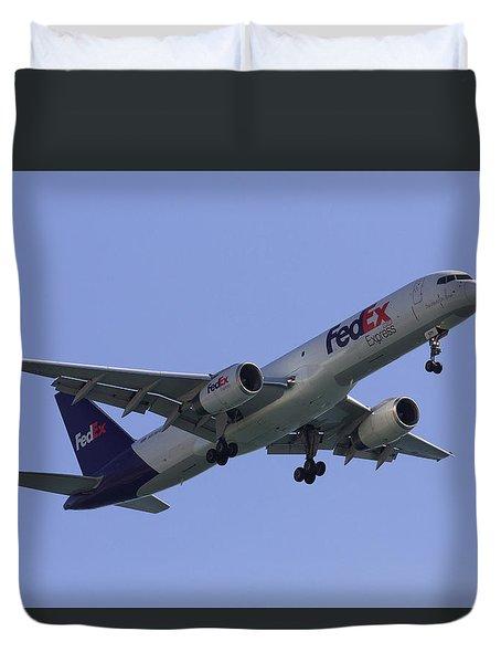 Fedex 757  Duvet Cover