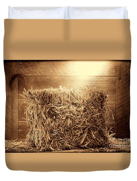 Feed Duvet Cover by American West Legend By Olivier Le Queinec