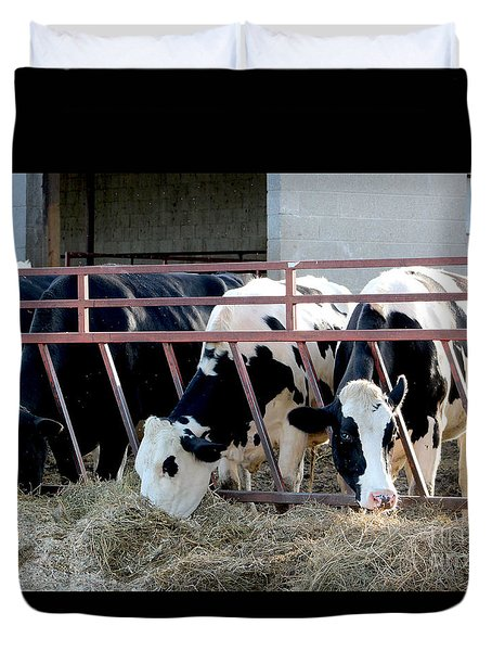 Feeding Time Duvet Cover