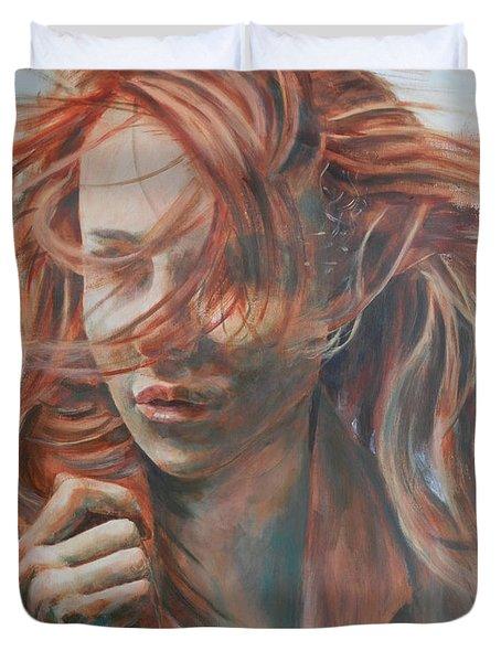 Feel The Wind Duvet Cover