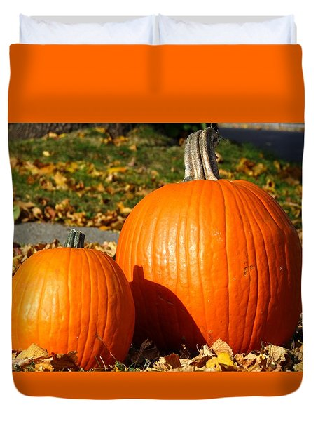 Feeling Fall Duvet Cover by Kyle West