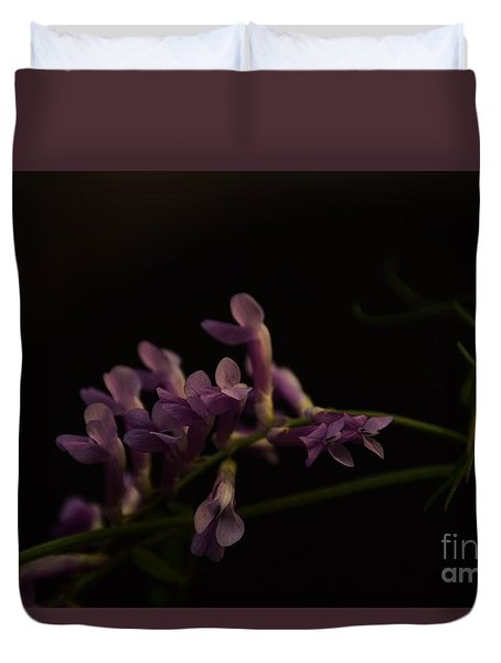 Feeling For The Last Bit Of Sunlight Duvet Cover