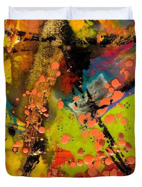 Feeling Free Duvet Cover by Angela L Walker