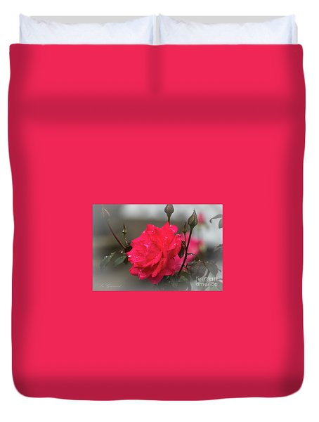 Feeling Rosy Duvet Cover