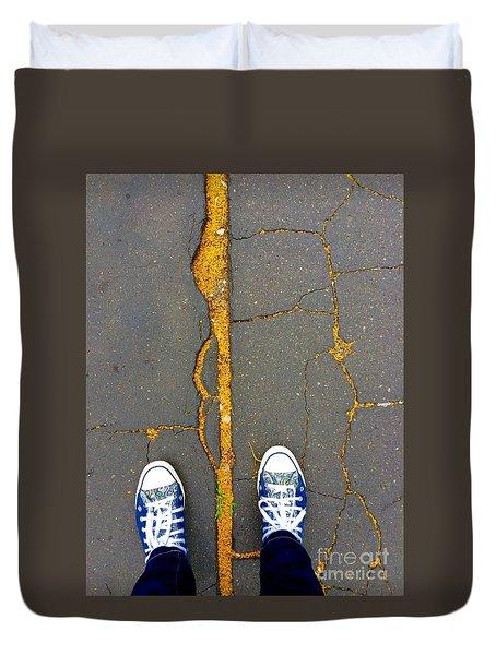 Feet Around The World #26 Duvet Cover