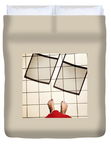 Feet Around The World #28 Duvet Cover