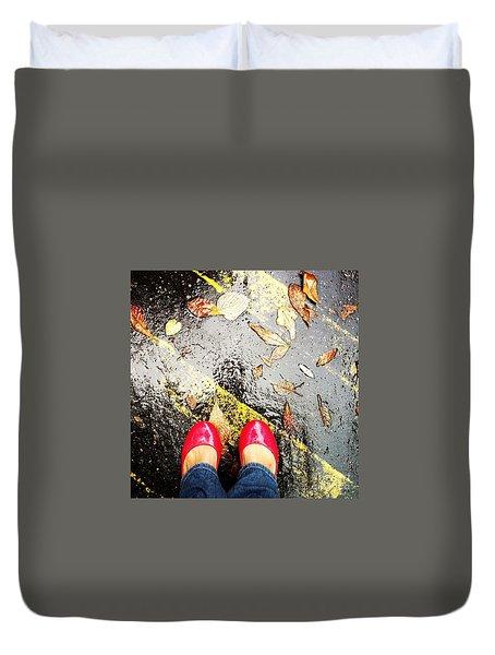 Feet Around The World #29 Duvet Cover