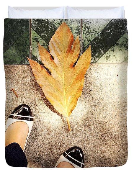 Feet Around The World #30 Duvet Cover