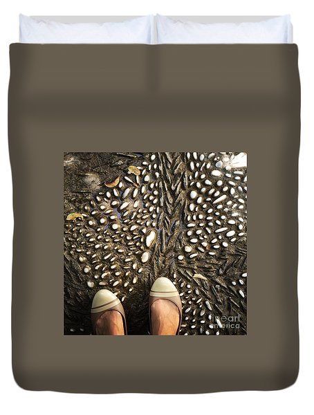 Feet Around The World #32 Duvet Cover
