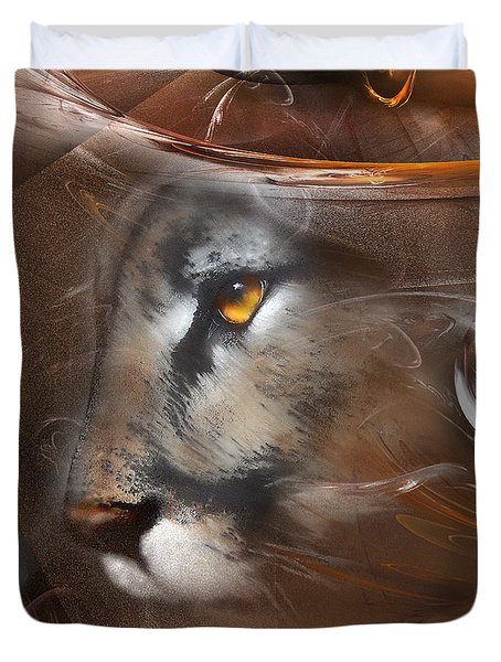 Feline Princess Duvet Cover