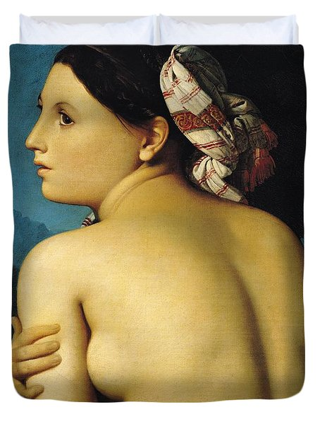Female Nude Duvet Cover by Ingres