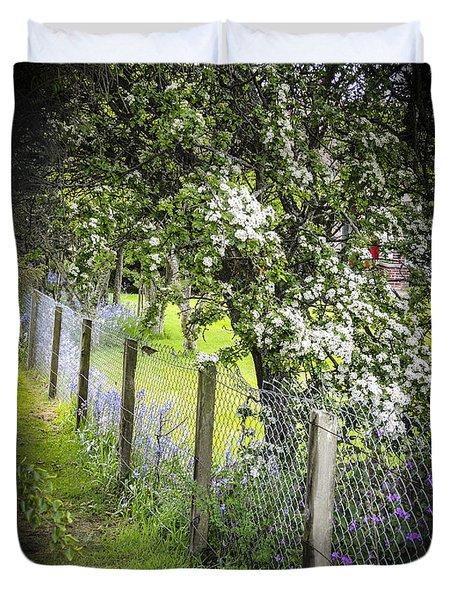 Fenceline Duvet Cover