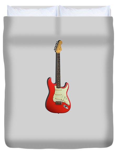 Fender Stratocaster 63 Duvet Cover by Mark Rogan