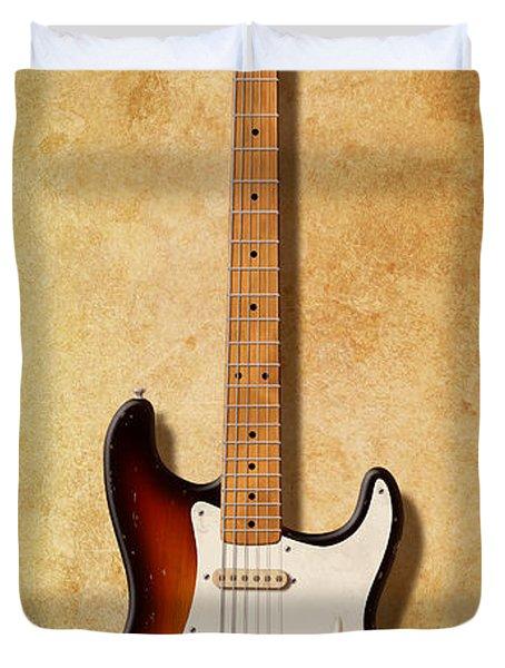 Fender Stratocaster Since 1954 Duvet Cover