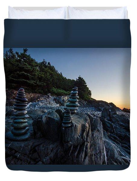 Feng Shui Duvet Cover by Paul Noble