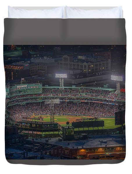 Fenway Park Duvet Cover by Bryan Xavier