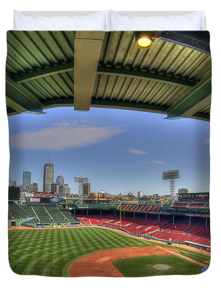 Fenway Park Interior  Duvet Cover