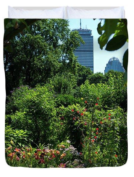 Fenway Victory Gardens In Boston Massachusetts  -30951-30952 Duvet Cover