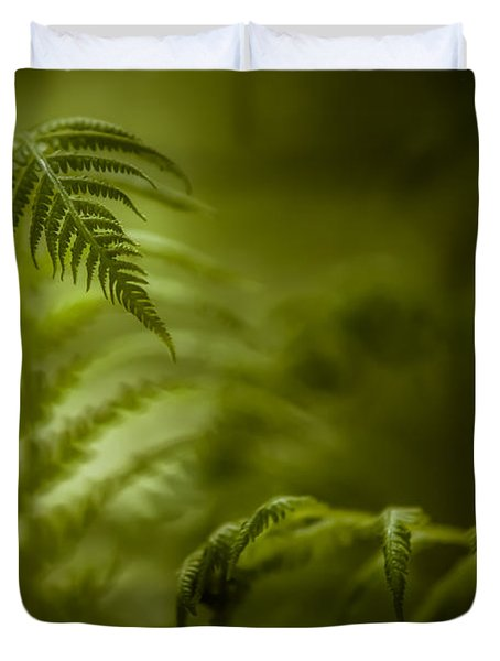 Fern Encounter Duvet Cover