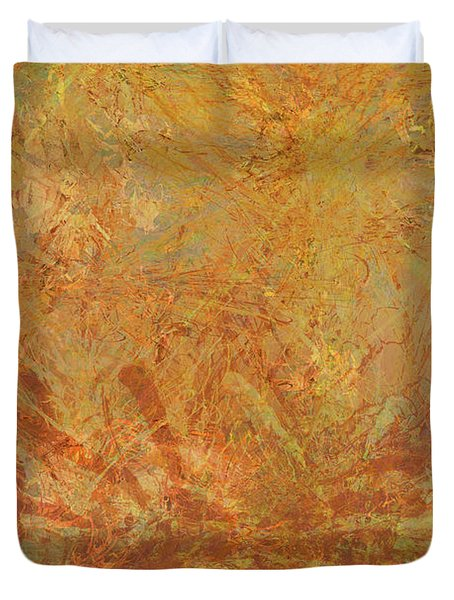 Fern Series #17 Rusted Duvet Cover
