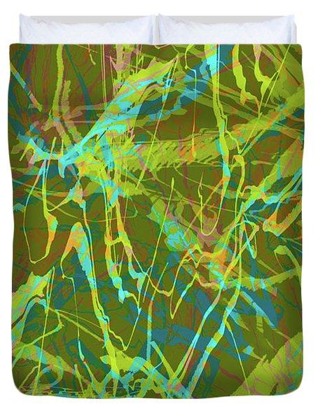 Fern Series #63 Duvet Cover