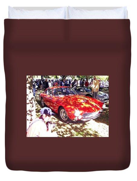 Ferrari 250 Gt Lusso Duvet Cover