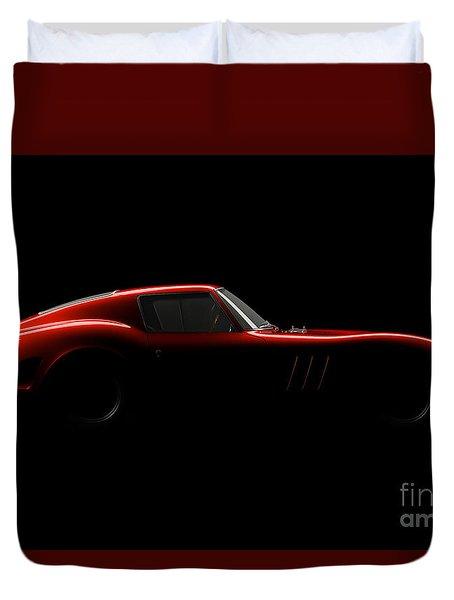 Ferrari 250 Gto - Side View Duvet Cover