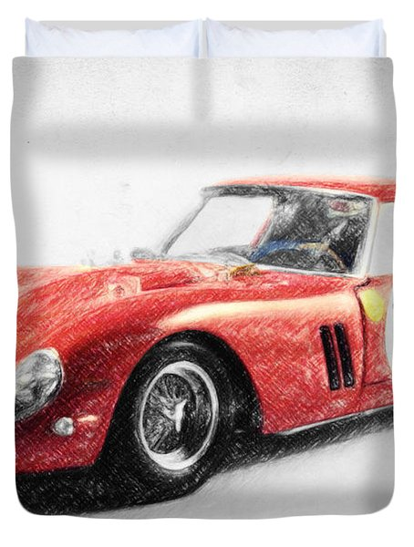 Ferrari 250 Gto Duvet Cover