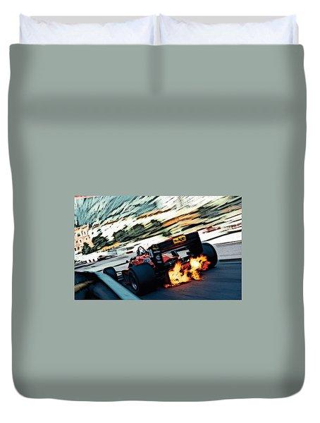 Ferrari 156/85 V6 Duvet Cover