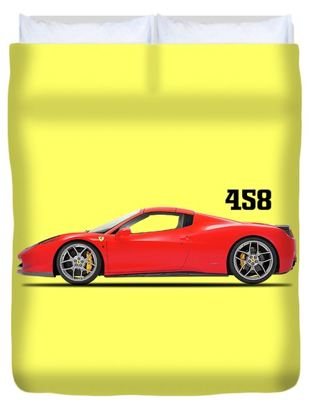 Ferrari 458 Italia Duvet Cover