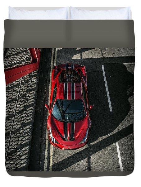 Ferrari 458 Speciale Duvet Cover