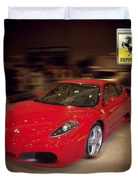 Ferrari F430 - The Red Beast Duvet Cover