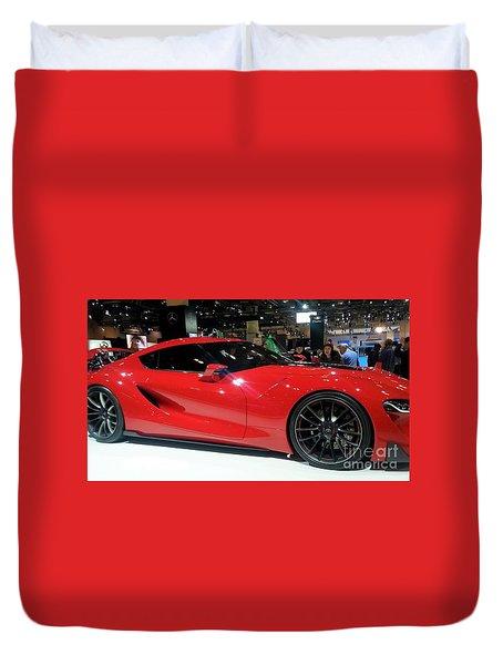 Red Ferrari Duvet Cover
