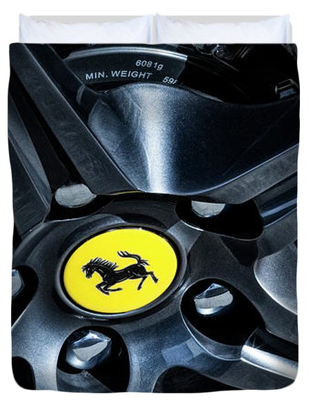 Ferrari Wheel I Duvet Cover