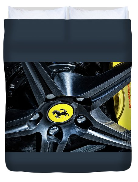 Ferrari Wheel I Duvet Cover