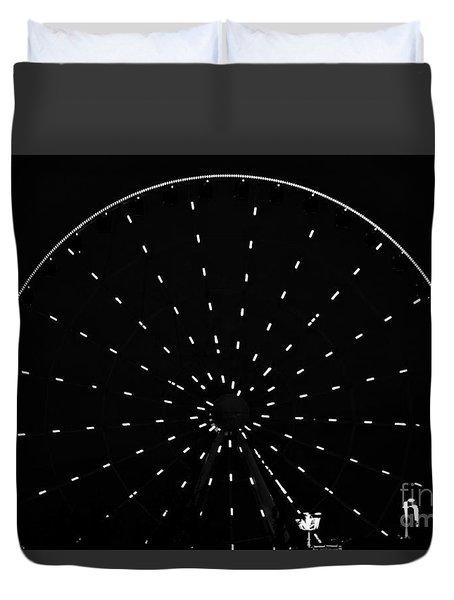 Ferris Wheel Pigeon Forge Duvet Cover