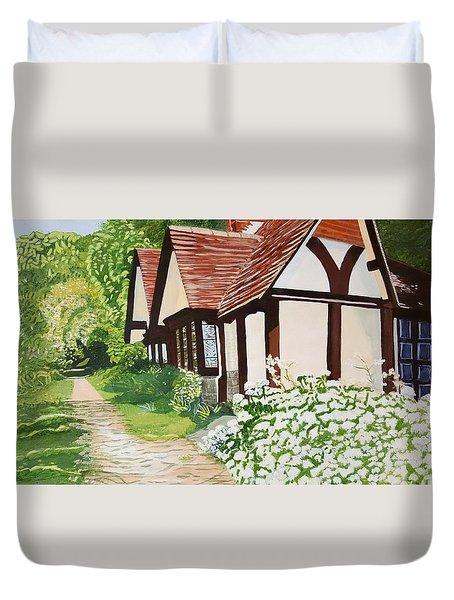 Ferry Cottage Duvet Cover
