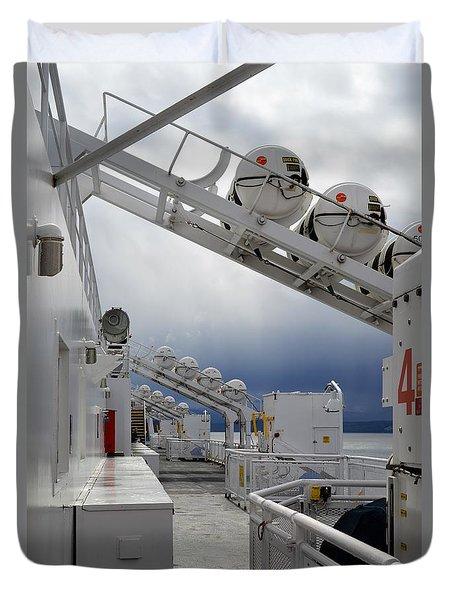 Ferry Crossing Duvet Cover
