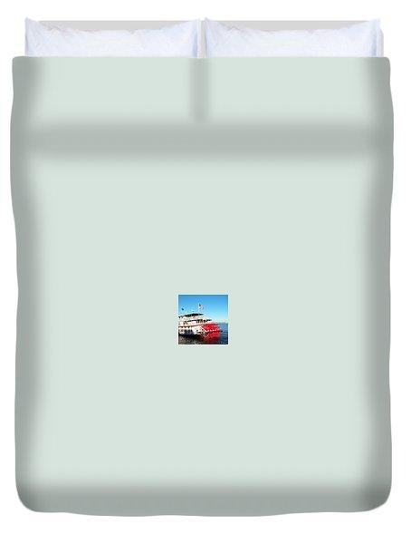 Ferry Duvet Cover