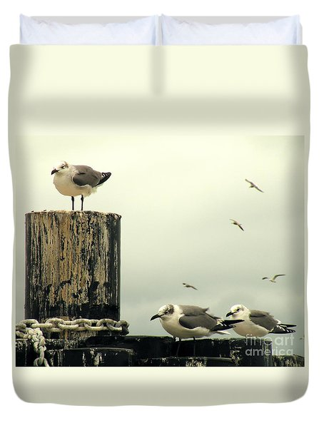 Ferry Hypnosis Duvet Cover