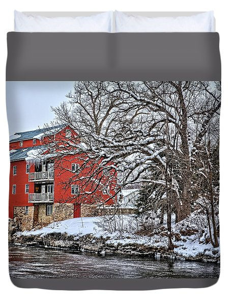 Fertile Winter Duvet Cover