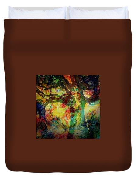 Festival Baobab Duvet Cover