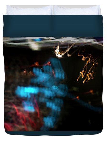 Festival Lights Duvet Cover