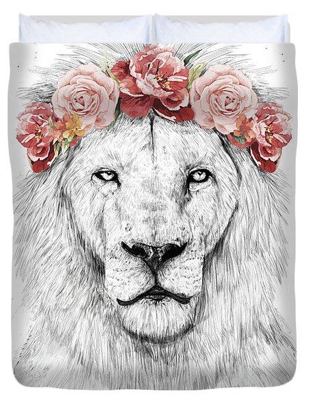 Festival Lion Duvet Cover
