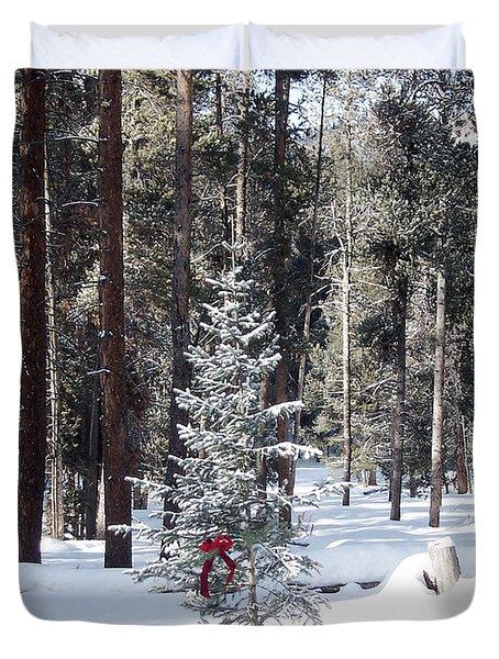 Festive Forest Duvet Cover